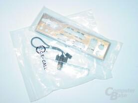 ATX-Blende & coaxial, digitaler Ausgang