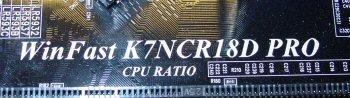 Leadtek K7NCR18D Label