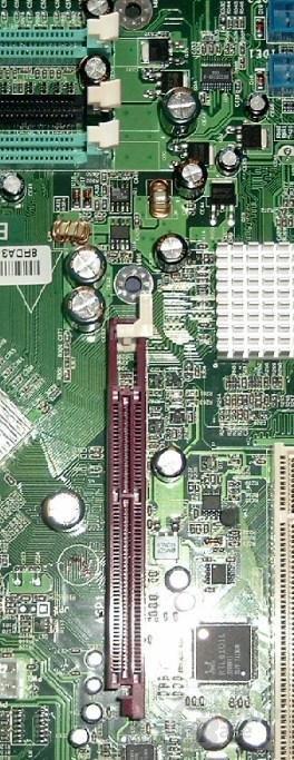 Epox 8RDA3+ AGP und RAM