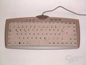 Tastatur Vorderseite