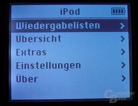 iPod - Nahaufnahme