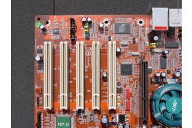 PCI-Slots des Abit IS7-G