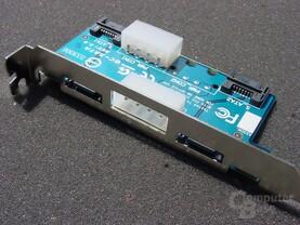 Gigabyte GA-8PENXP Serial-ATA-Slotblende