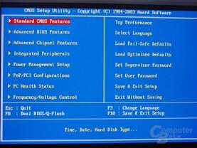 Gigabyte GA-8PENXP BIOS nach STRG+F1