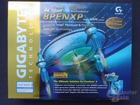 Gigabyte GA-8PENXP Verpackung
