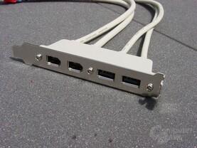 Abit IS7-G USB und Firewire Slotblende