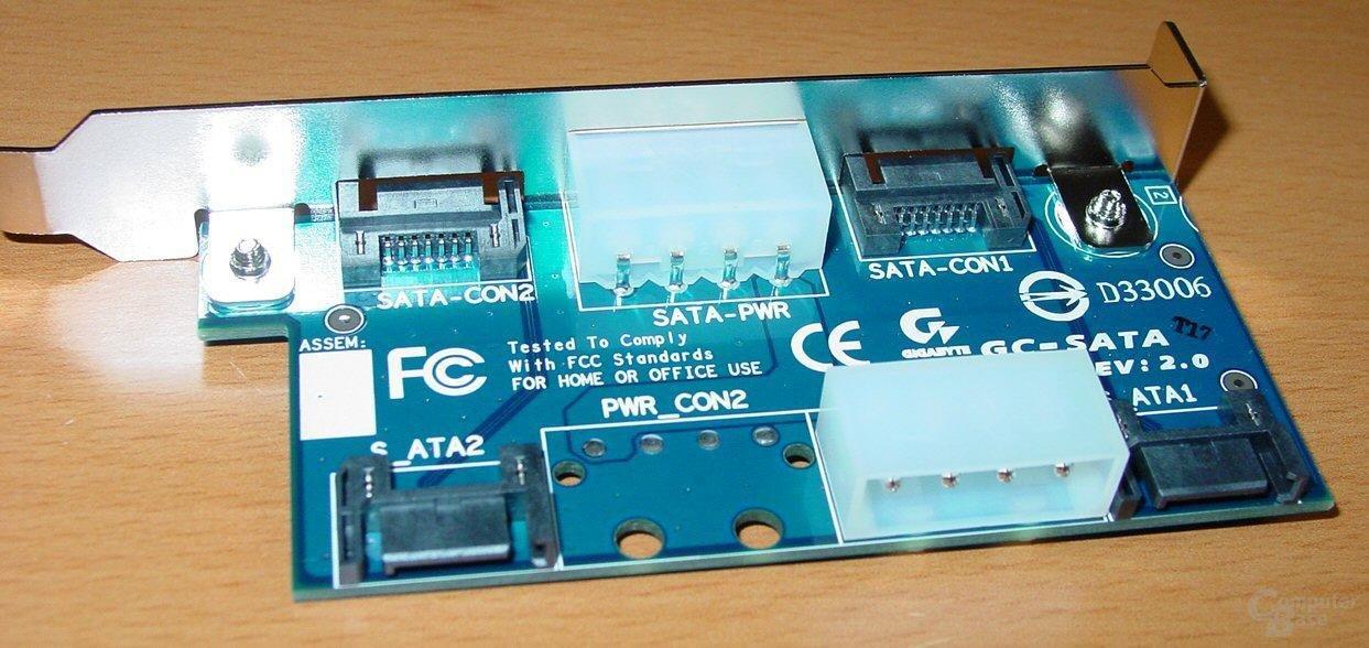 Gigabyte GA-8KNXP - GC SATA Steckkarte - 2
