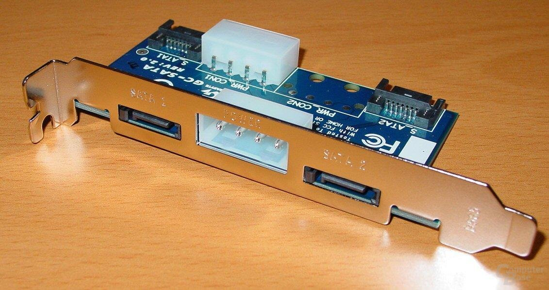 Gigabyte GA-8KNXP - GC SATA Steckkarte