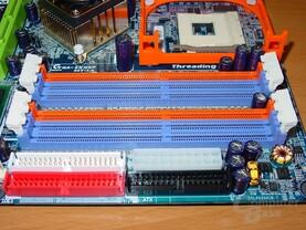 Gigabyte GA-8KNXP - RAM Steckplätze