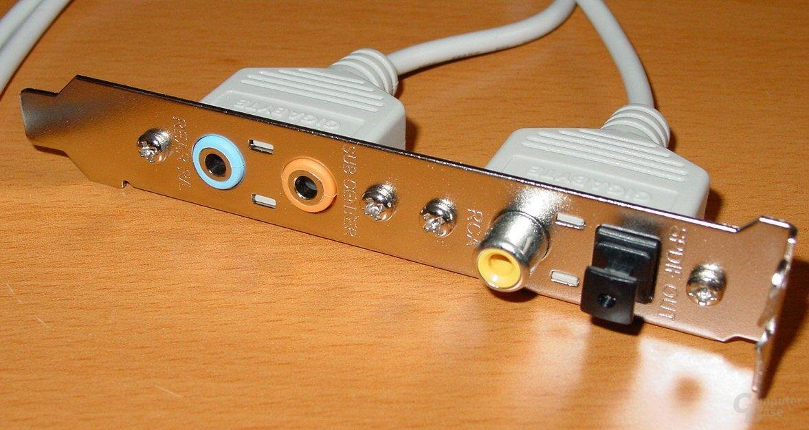 Gigabyte GA-8KNXP - Sound Modul