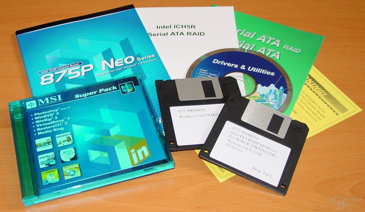 MSI 875P Neo-FIS2R - Dokumentation