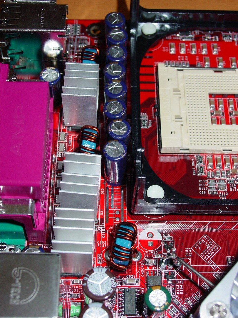 MSI 875P Neo-FIS2R - Spannungswandler