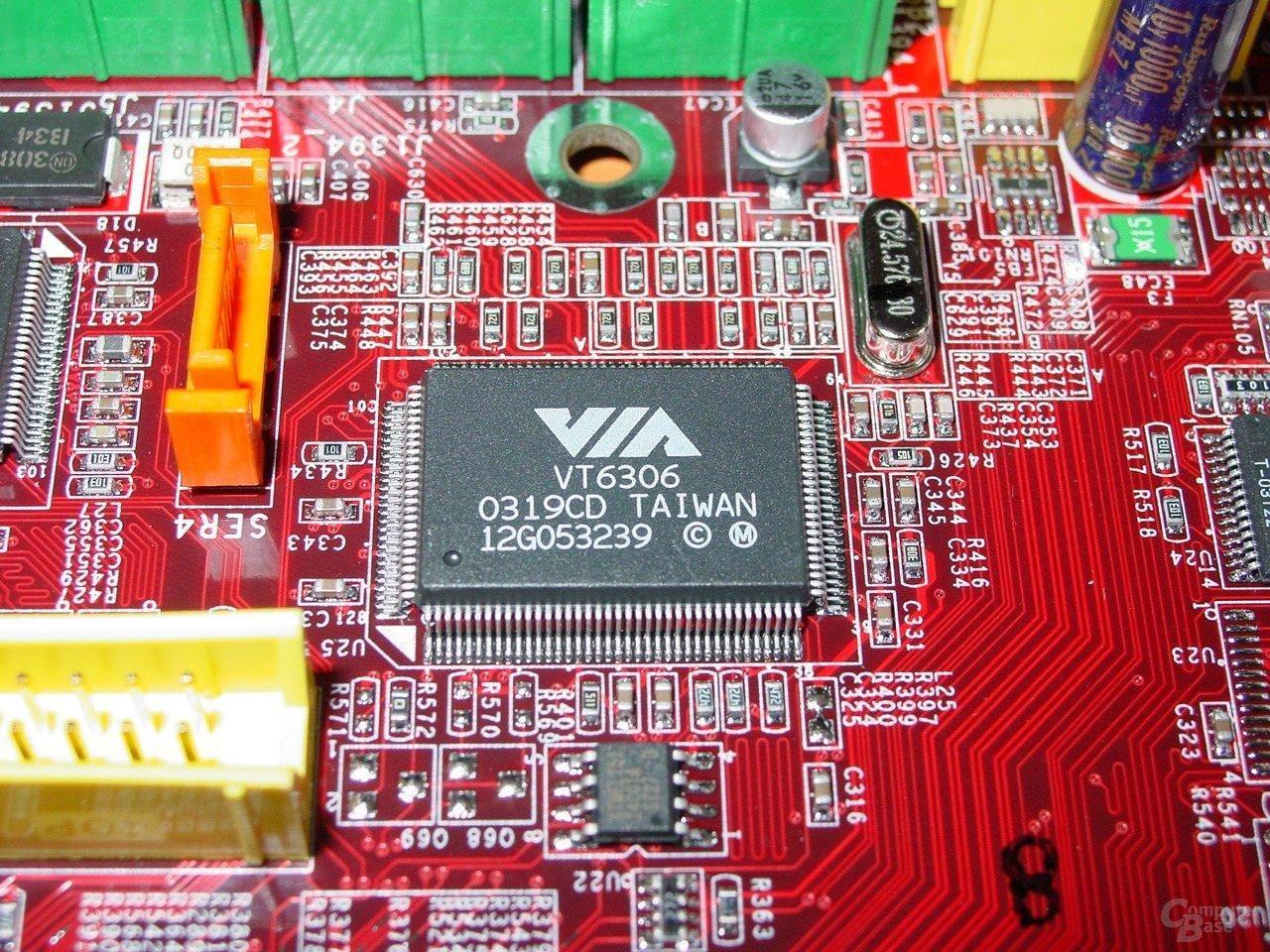 MSI 875P Neo-FIS2R - VIA Firewire Controller