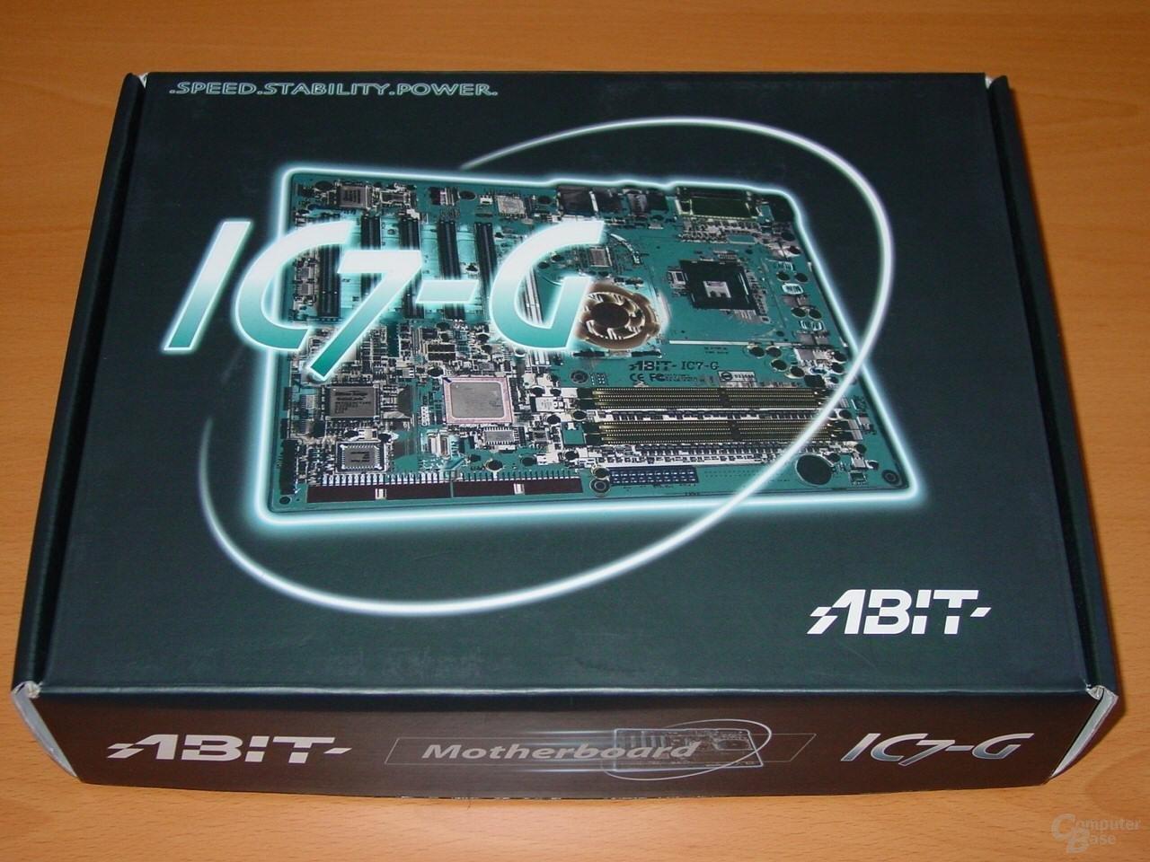 Abit IC7-G - Packung