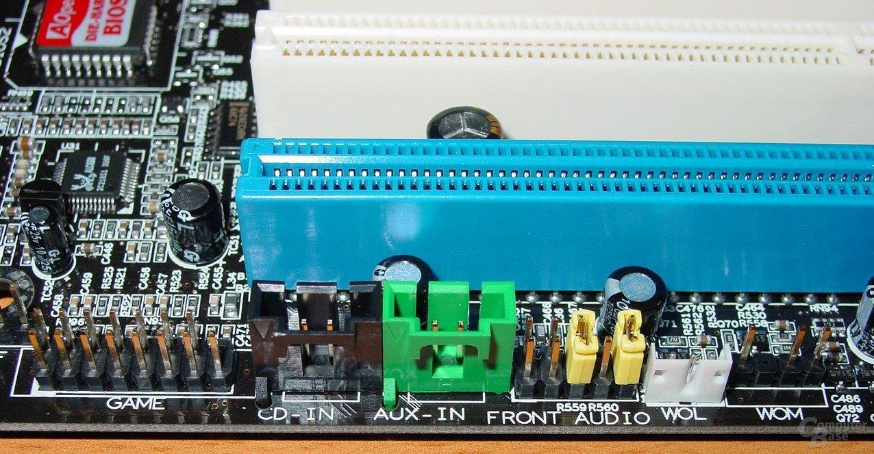 AOpen AX4C Max - Anschlüsse