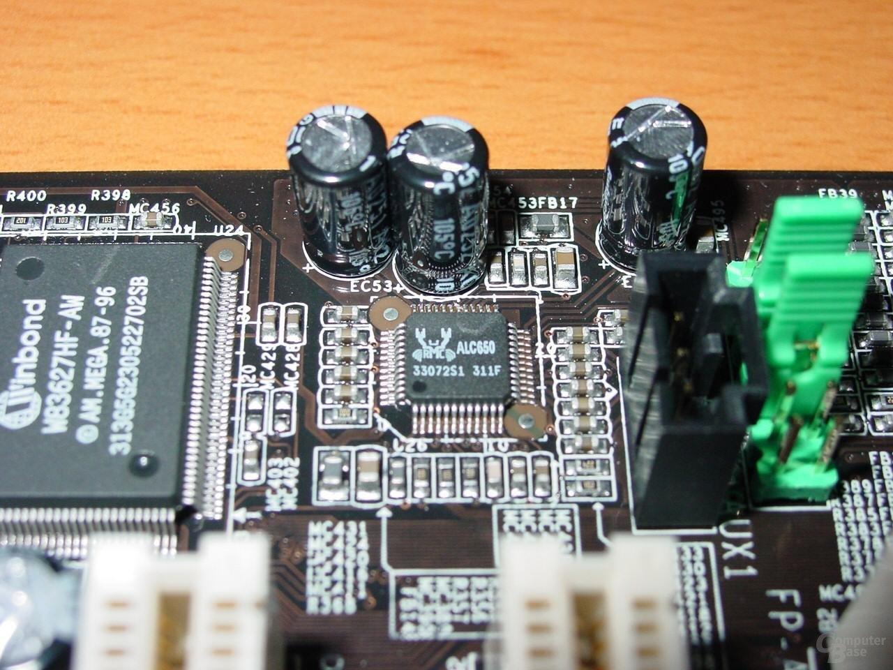 Abit IC7-G - ALC650