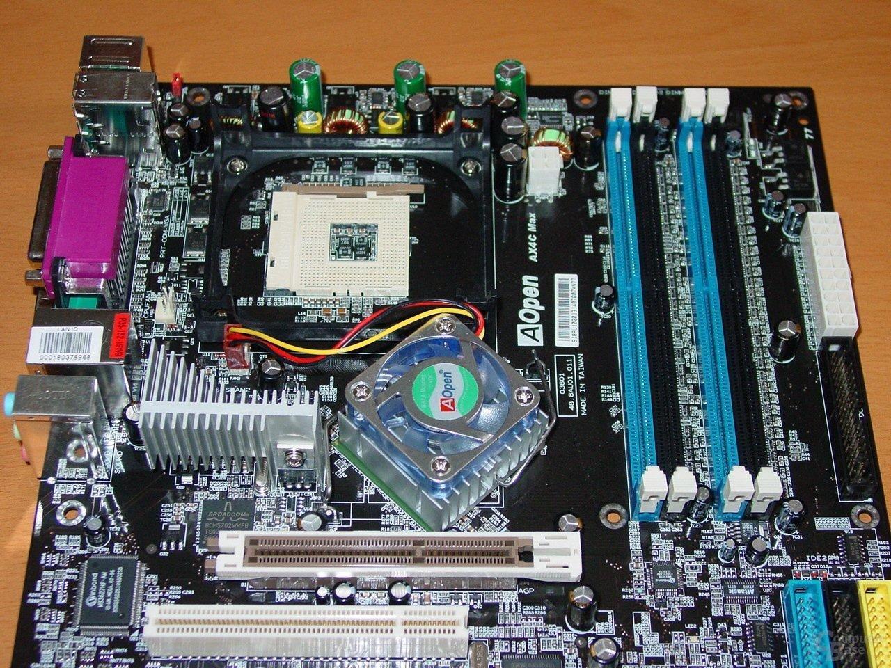 AOpen AX4C Max - Mainboard