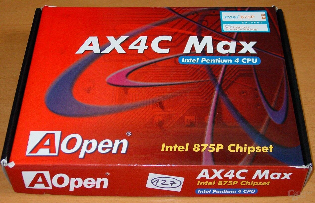 AOpen AX4C Max - Packung