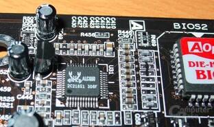 AOpen AX4C Max - Realtek ALC650