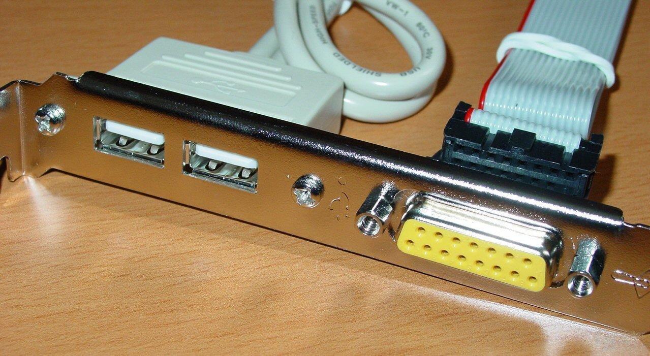 AOpen AX4C Max - USB - GamePort Modul