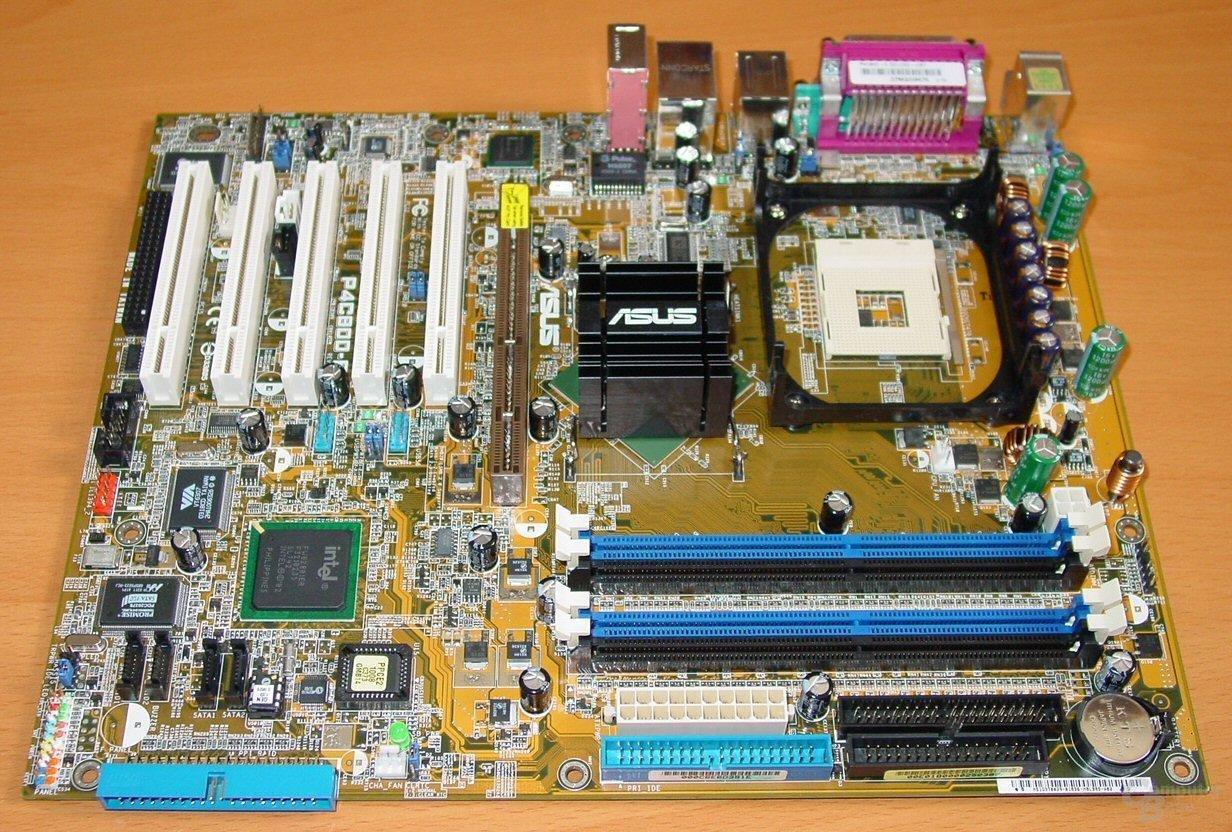 Asus P4C800-E Deluxe - Mainboard