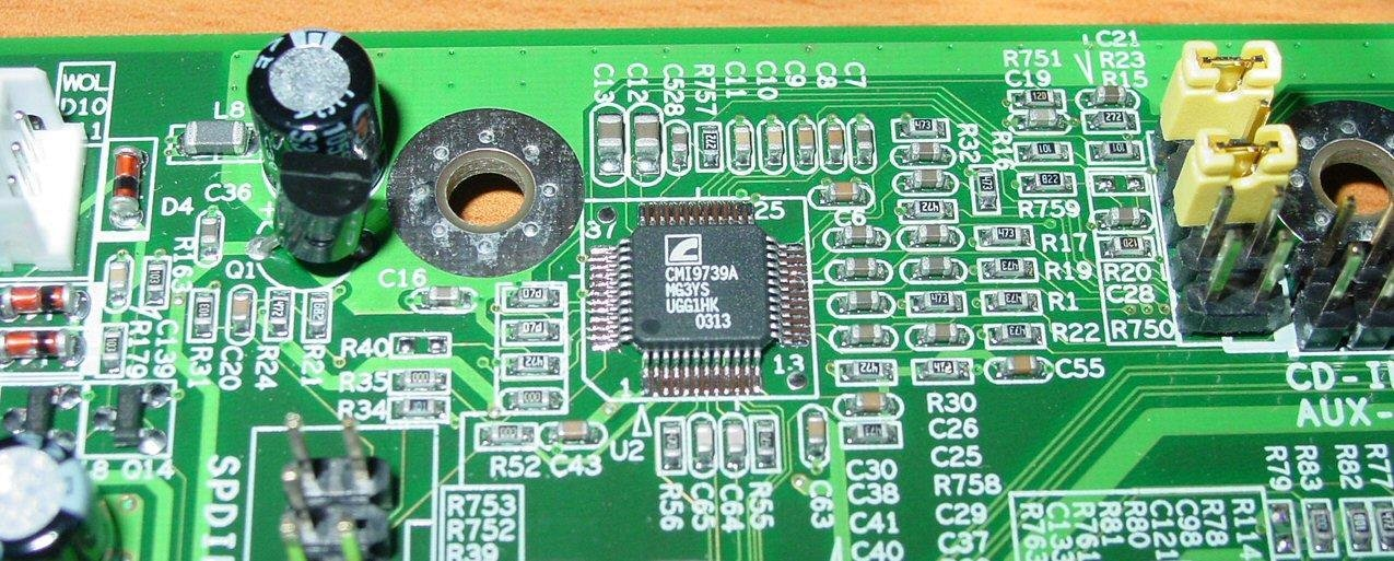 EPoX EP-4PCA3+ - C-Media Audio Chip