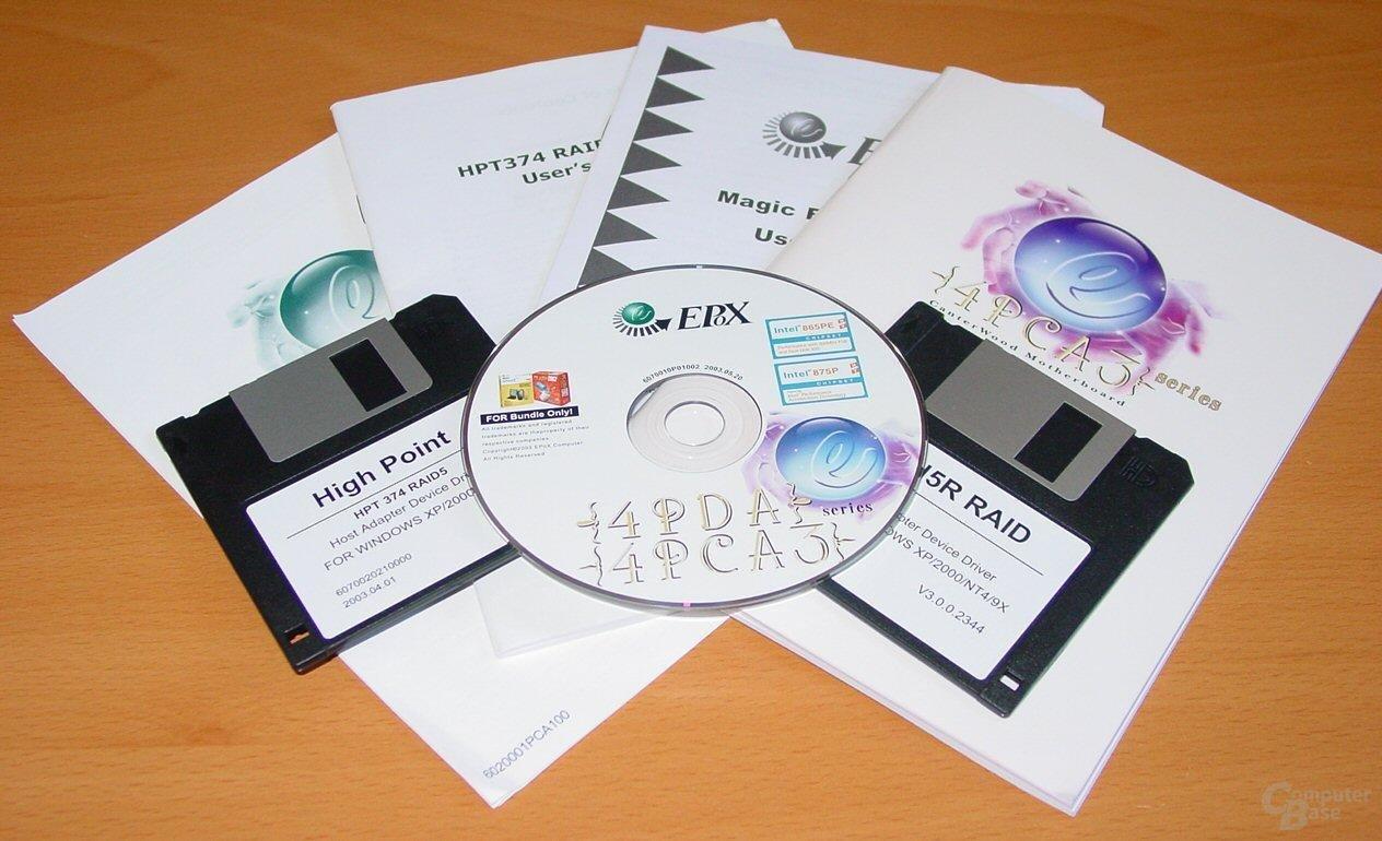 EPoX EP-4PCA3+ - Dokumentation