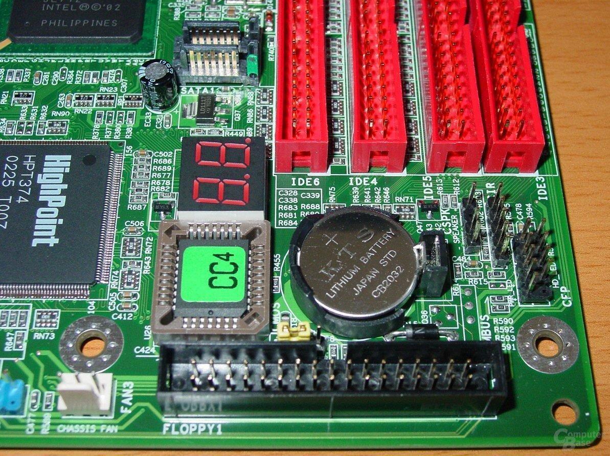 EPoX EP-4PCA3+ - LED - Bios - Floppy
