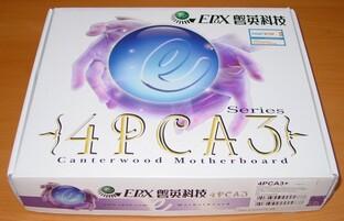 EPoX EP-4PCA3+ - Packung