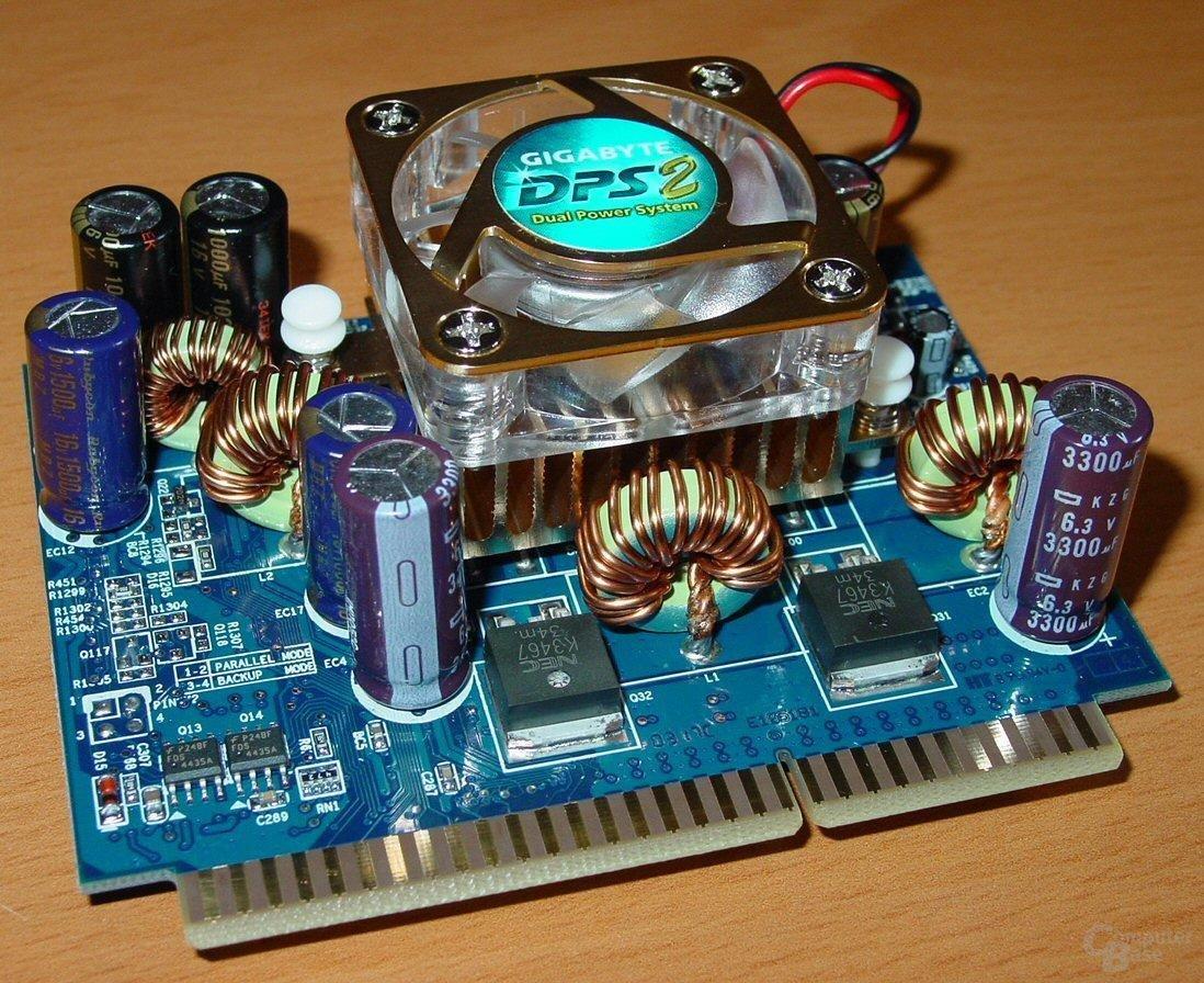 Gigabyte GA-8KNXP - Dual Power System