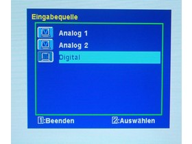OnScreen-Menüs