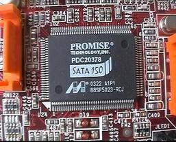 Promise Serial-ATA Controller