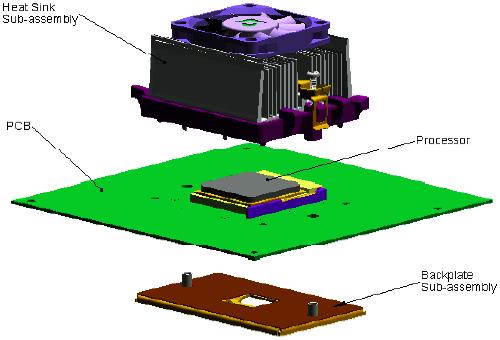 AMD Athlon 64 Referenzkühlerdesign 1