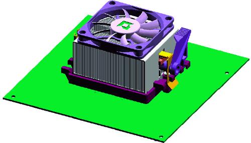 AMD Athlon 64 Referenzkühlerdesign 2_3