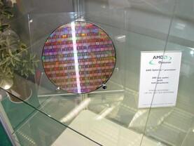 Wafer vom Athlon 64 und Opteron