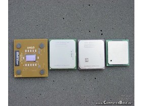 Athlon XP, Athlon 64, Athlon 64 FX, Pentium 4