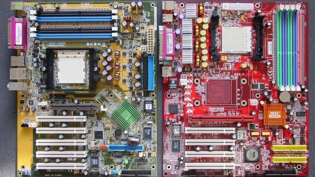 Server-Mainboards im Test: Asus SK8N vs. MSI K8T Master1-FAR