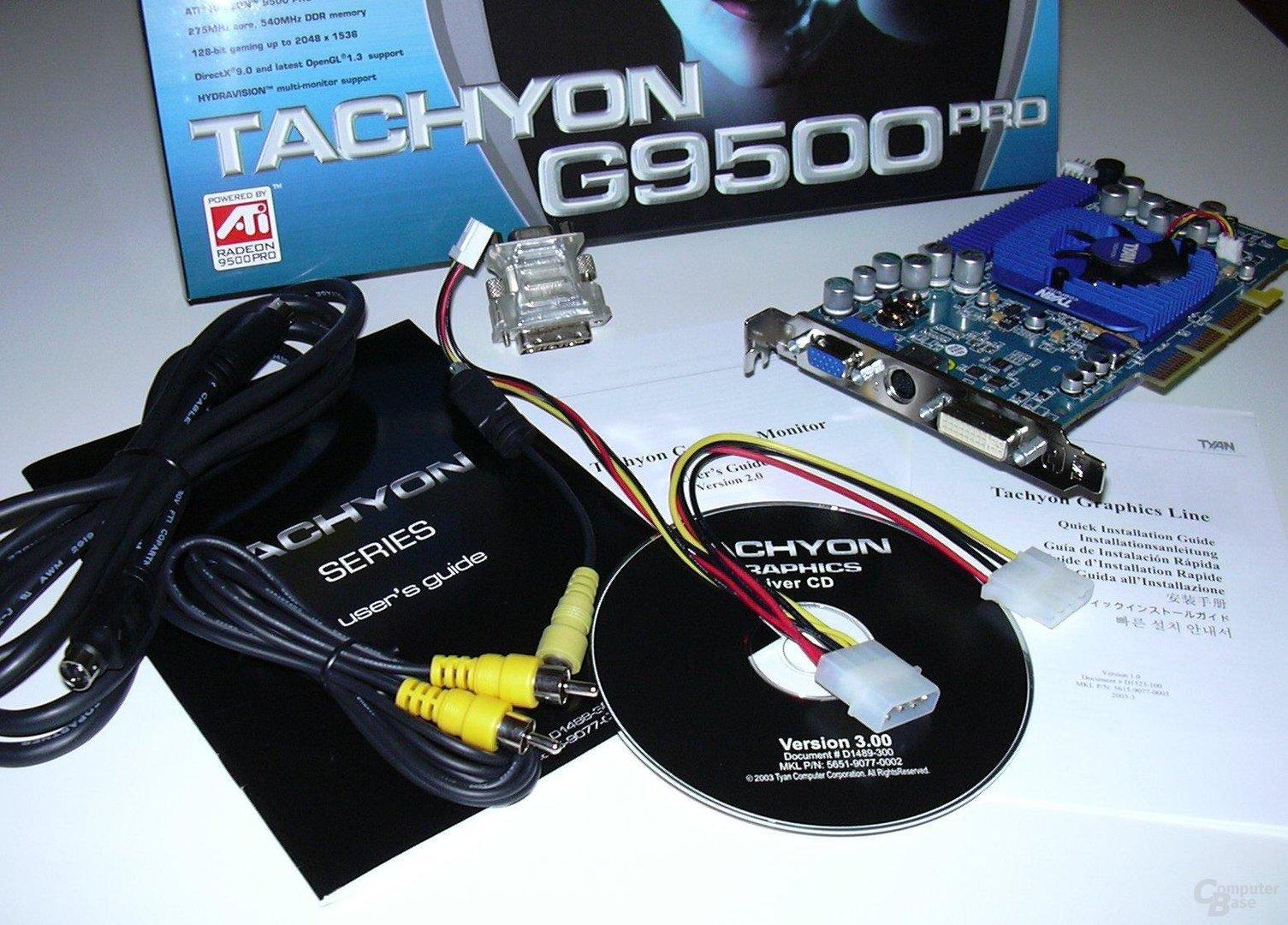 GBT R9500p - Lieferumfang III