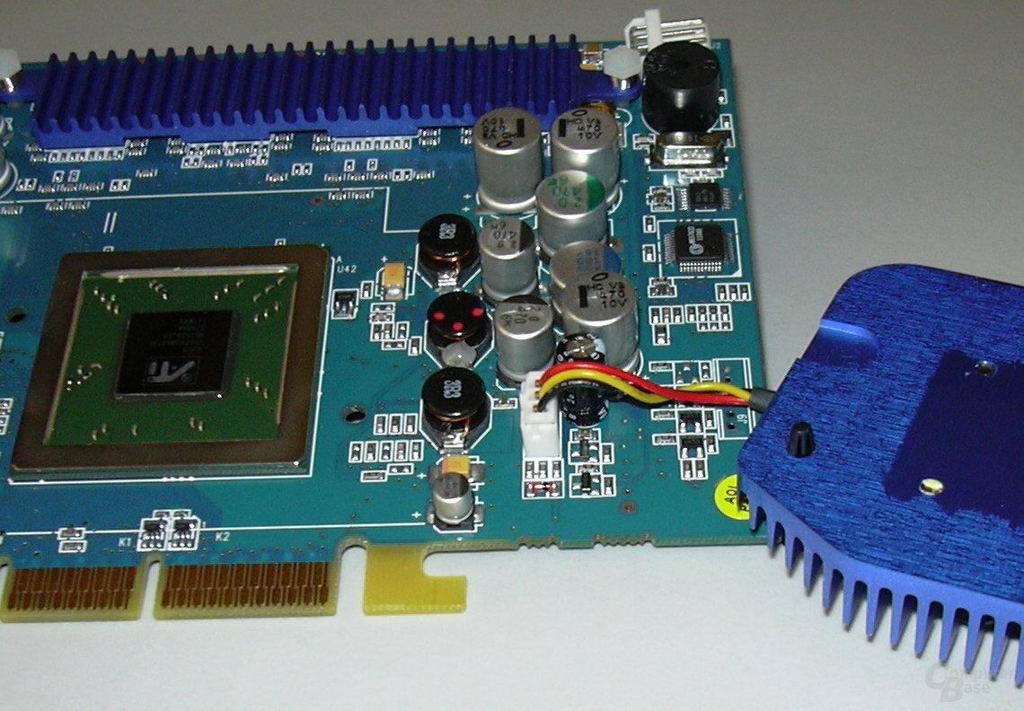 GBT R9500p - GPU Area cleaned