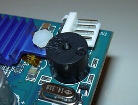 GBT R9500p - Karte Piepser