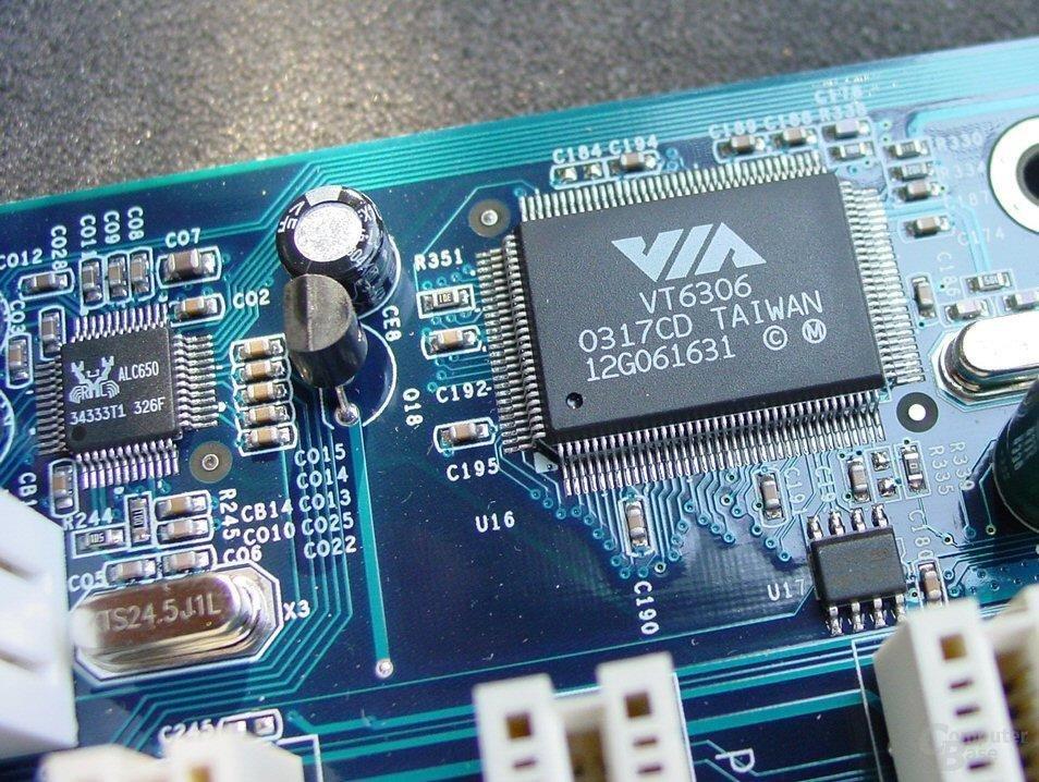 VT6306, ALC650