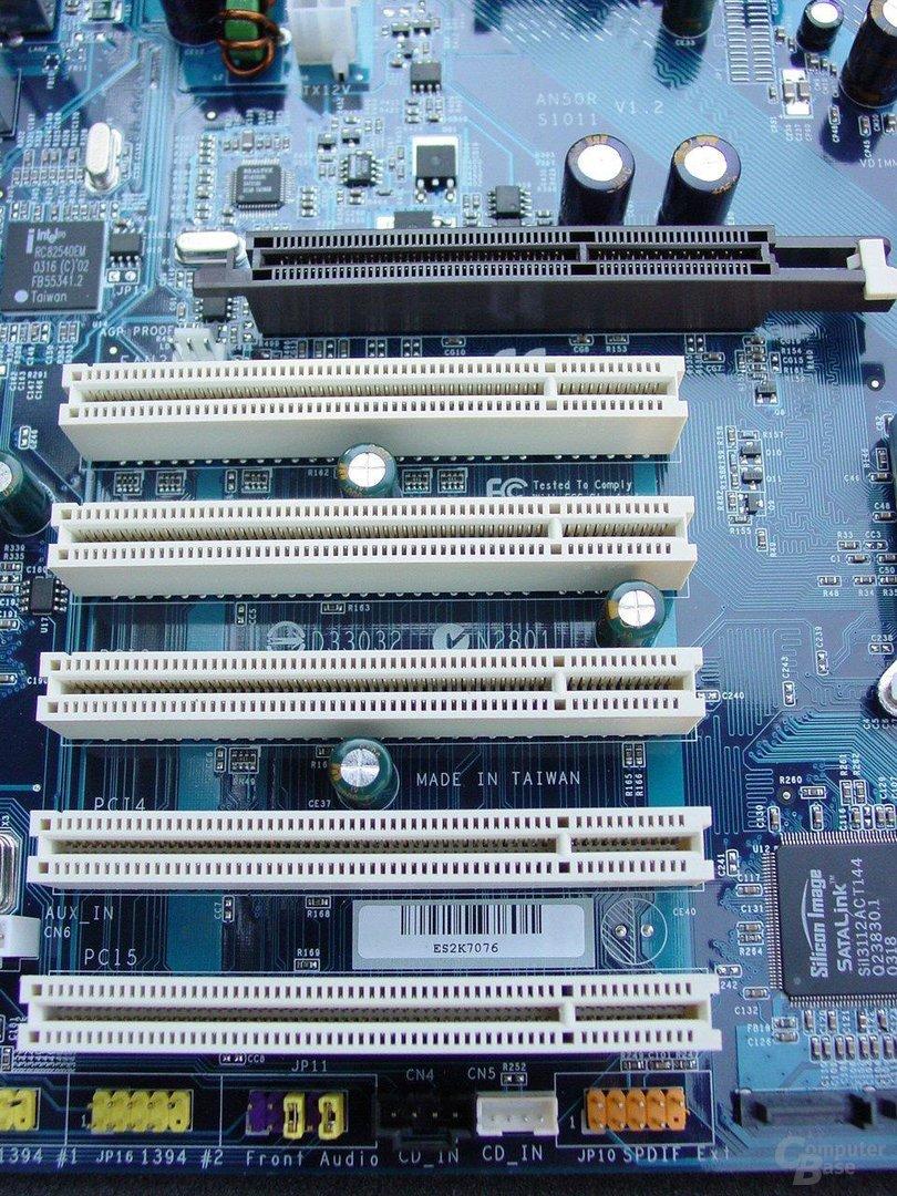 AGP-, PCI-Slots
