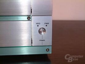 Powerschalter und LEDs