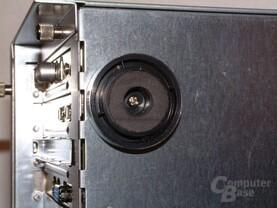 Detail: Gehäusefuß