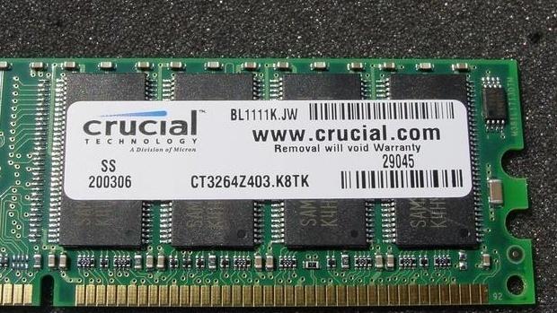 Crucial DDR400 im Doppelpack im Test: Samsung gegen Micron