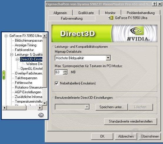 52.16 D3D Optionen