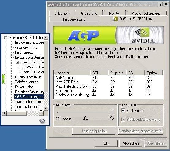52.16 AGP-Einstellungen