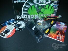 Sapphire Atlantis Radeon 9800 Pro - Lieferumfang