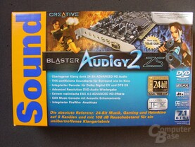 Creative Audigy 2 ZS Verpackung
