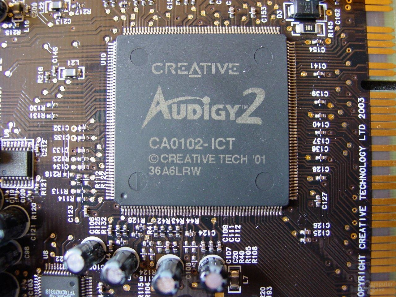 Creative Audigy 2 ZS Chip